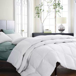 COPY - Down & Feather Blend Comforter Full/Queen